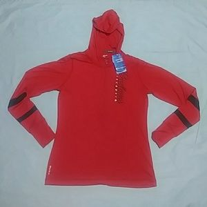 Champion Wisconsin Badgers Half Zip Hoodie